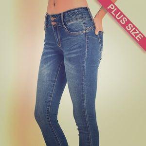 Denim - Plus Size Denim Jeans